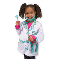 Melissa & Doug Doctor Role Play Costume Set-