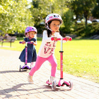Mini Micro Deluxe Scooters Pink