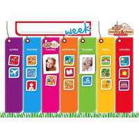 Kids Weekly activity planner-