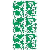Dinosaur Decal Wall Stickers Green