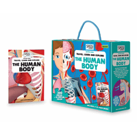 Sassi Junior The Human Body Puzzle & Book Set - 205 pcs