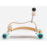 Wishbone mini flip ride on rocker Aqua