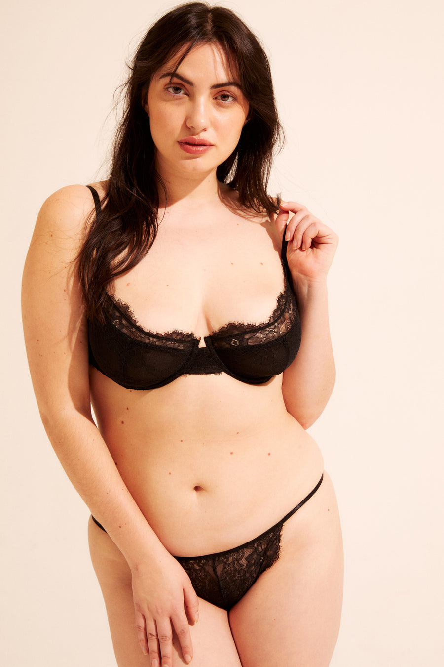 The Baxter Bra - sexy and supportive. Available in 32A - 36DD.