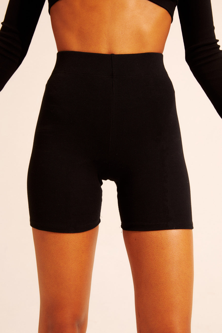The perfect bike short, made for dressing up or down. Extra thick band at waist with elastic. Available in XS - XXL.