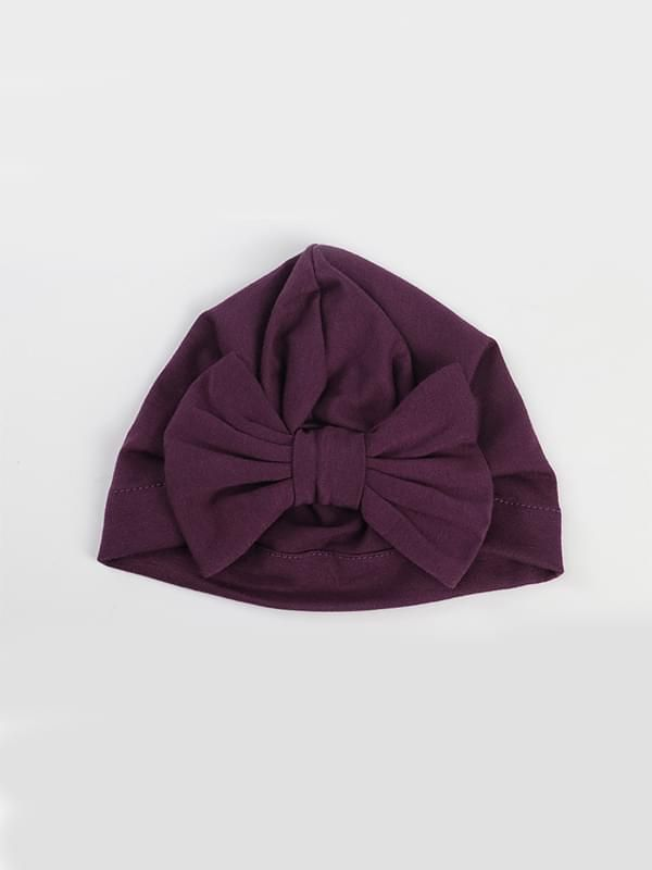 Solid Color Head-wear - Purple