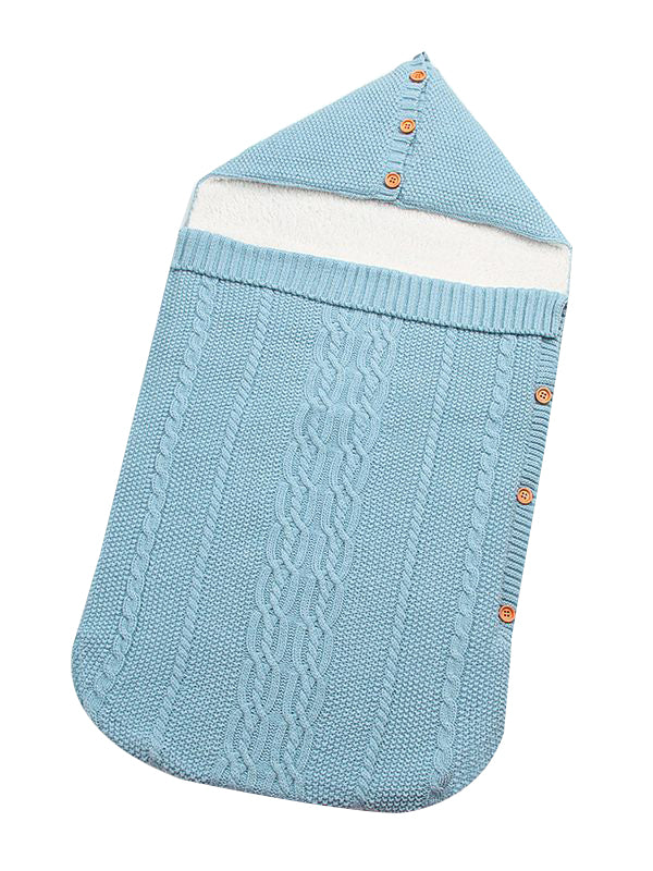 Light Blue Sleeping Bag