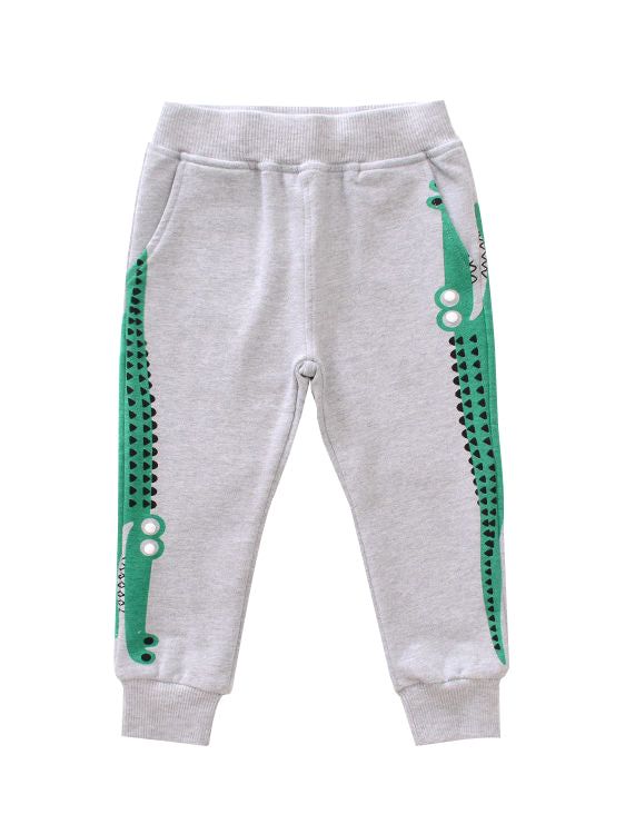 Crocodile Trousers Long Pants