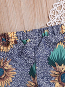 Stylish Sunflower Pants