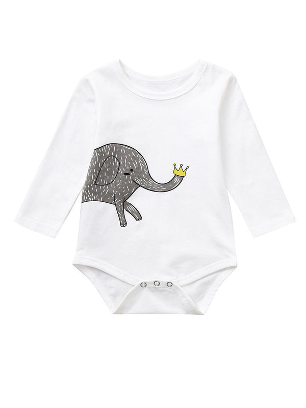 Long-sleeved Baby Bodysuit