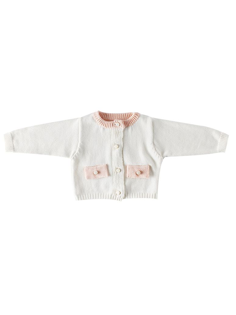 Spanish Style Baby Girl Knitted Cardigan