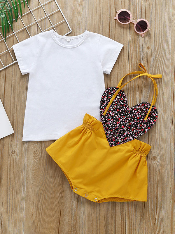 Little Girl Summer 2-Piece  Clothes Outfits