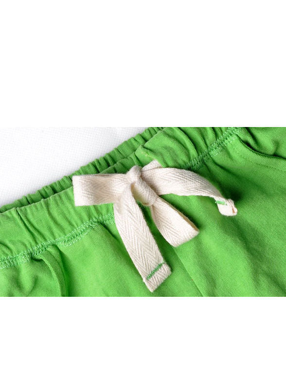 Little Boy Summer Solid Color Shorts