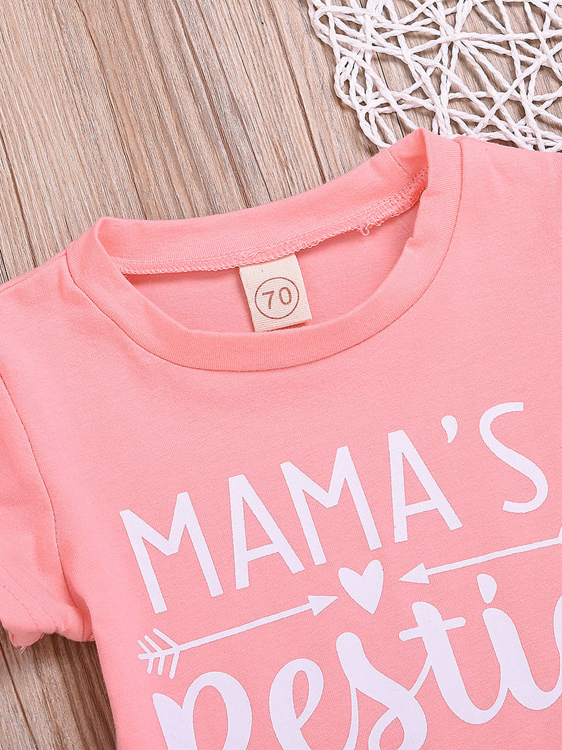 Baby Little Girl Pink T-shirt