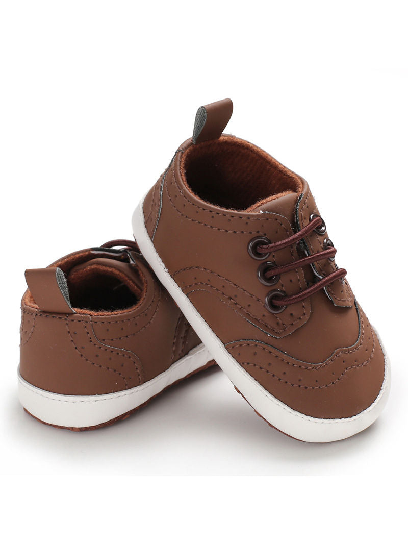 Solid Color Crib Shoes