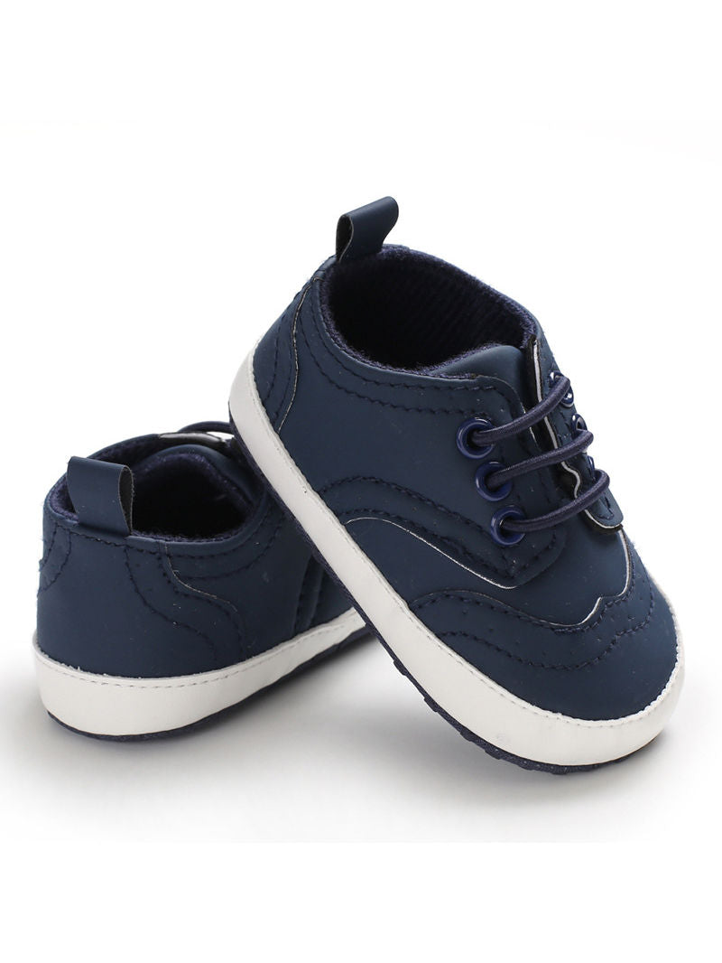 4 Solid Colors Baby Boy Crib Shoes Spring Fall
