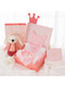5-PACK Sweetly Baby Girl Birthday Pink Clothes Set Gift Box