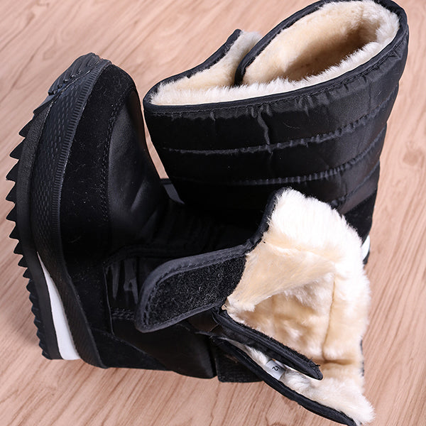 2 Colors Winter Outdoor Waterproof Non-slip Snow Boots moon boots