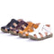 Baby Toddler Kids Summer Beach Closed-toe Velcro Sandals 4-color