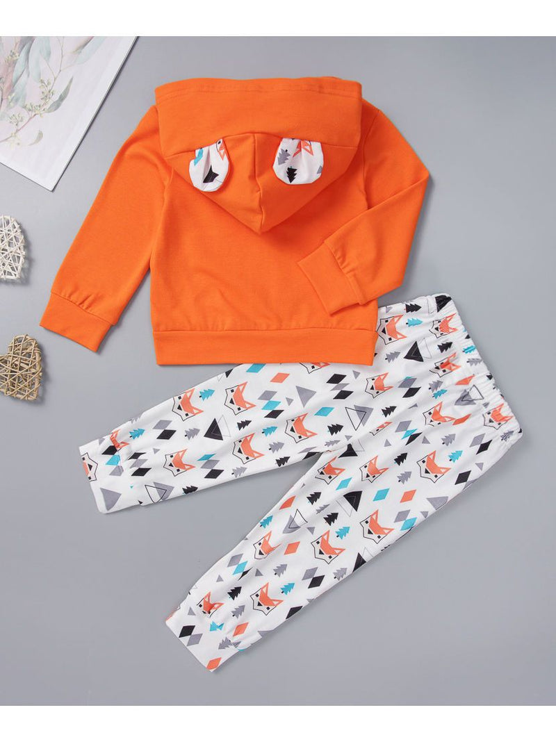 Little kids Fall Outfit-Back