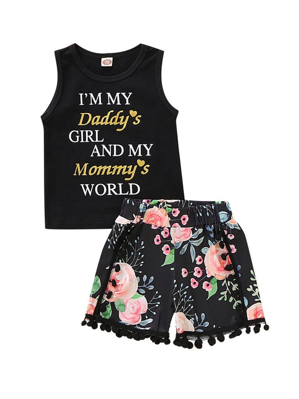 Fashion Tank Top + Flower Shorts