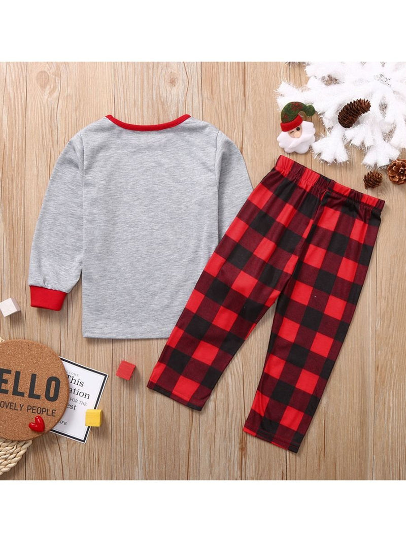 2-Piece Family Matching XMAS Nightwear Set