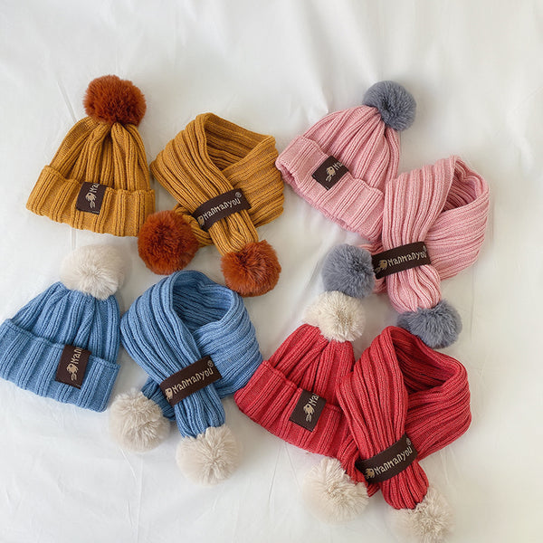 Solid Color Hats & Scarf