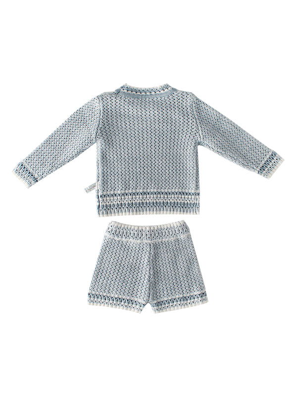 Knitted Wear Outfits - gray