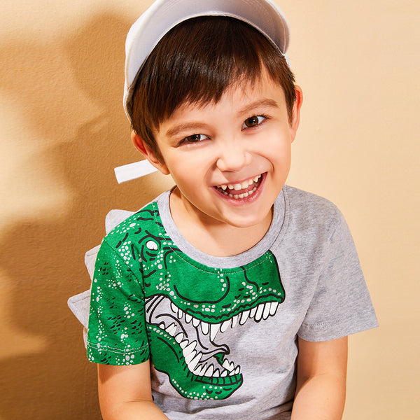 Cool Dinosaur T-shirt for Toddler Big Boys