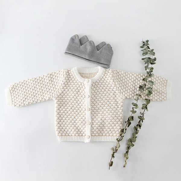 Spanish Style Crochet Dots Outwear Suspender Top Knitwear
