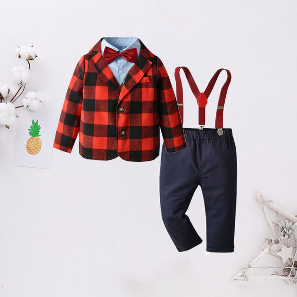 5-Piece Stylish Little Boy Party Suits