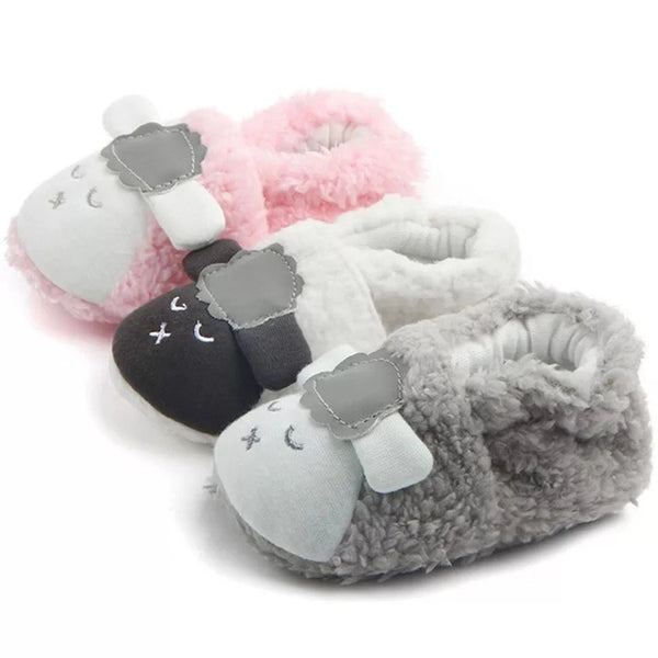 Adorable Sheep Style Baby First Start Crib Shoes