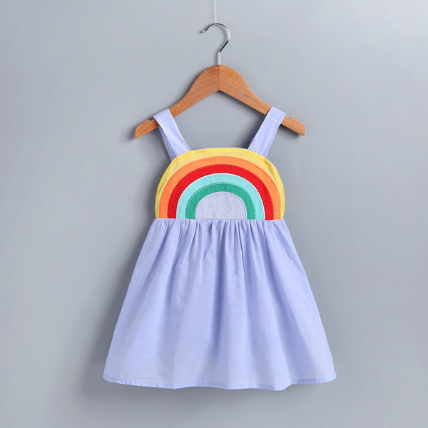 Rainbow Dresses Baby Toddler Girl Sundress