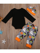 3-pieces Holloween Clothes Set-back