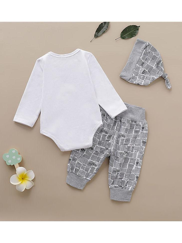 Spring Cotton Blend 3PCS Set -Back