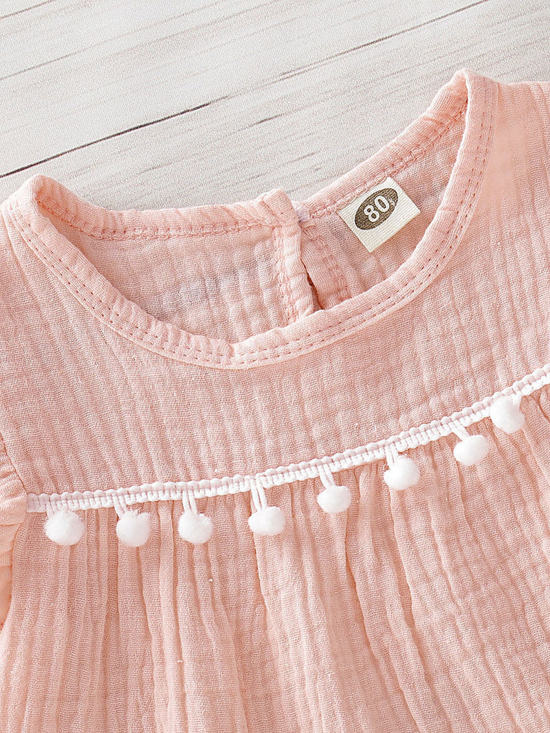 Baby Girls Pink Outfit-Top