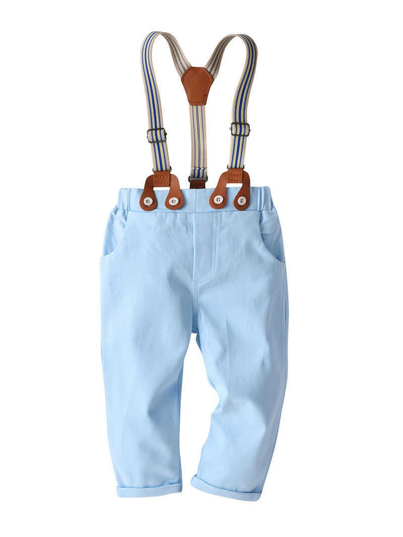 Straps Light Blue trouser