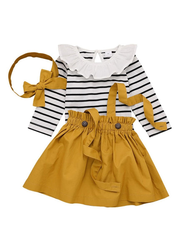 Toddler Girl 3pcs Outfits