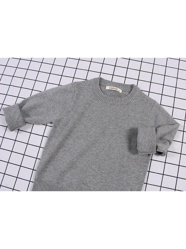 Knitted Wear-Gray