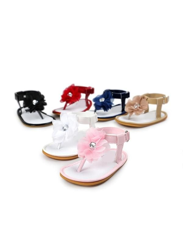 Baby Girls Crib Shoes Sandals-