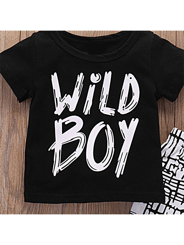 Baby Boy 2-piece Outfit-T-Shirt