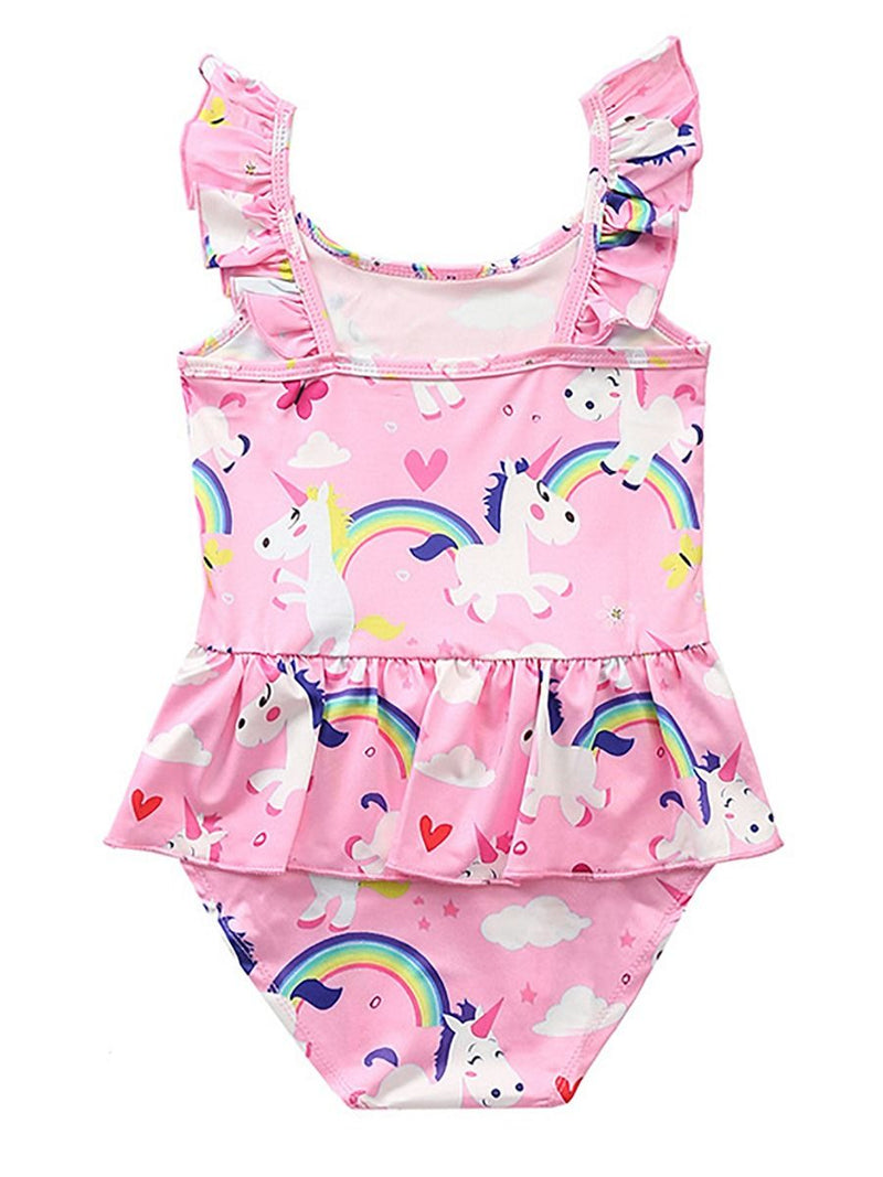 Baby Girls One Piece Swimming Suit