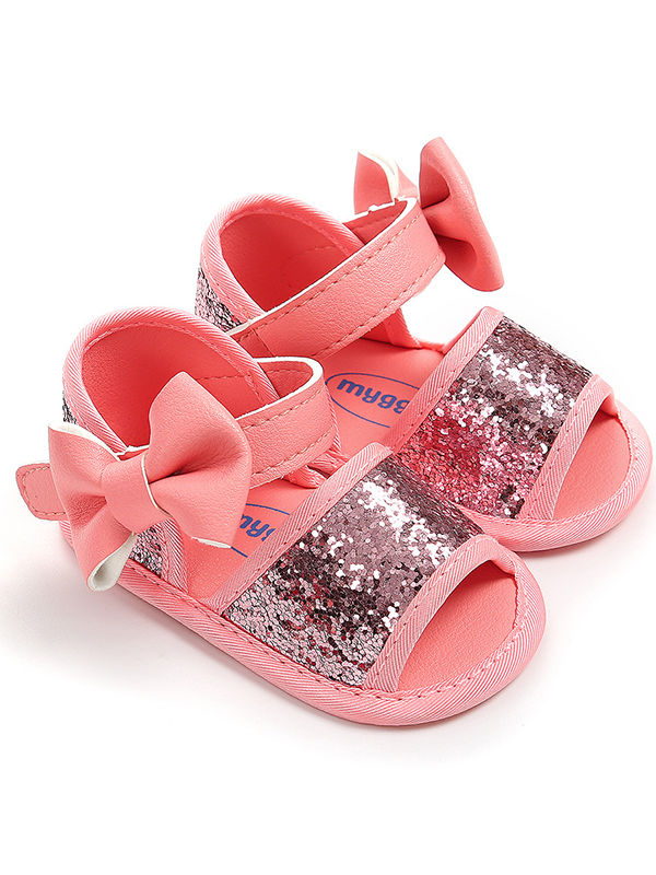 Little Girls Princess Sandal-pink