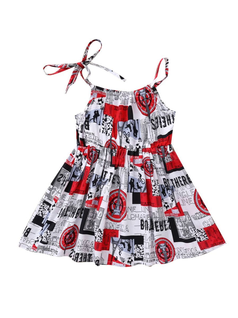 Baby Girls Suspender Dress