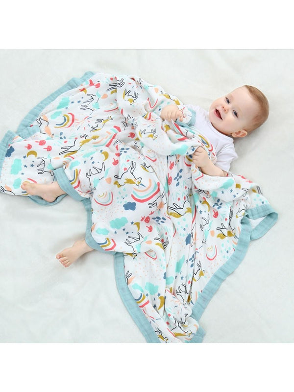 Cartoon Printed Baby Blanket