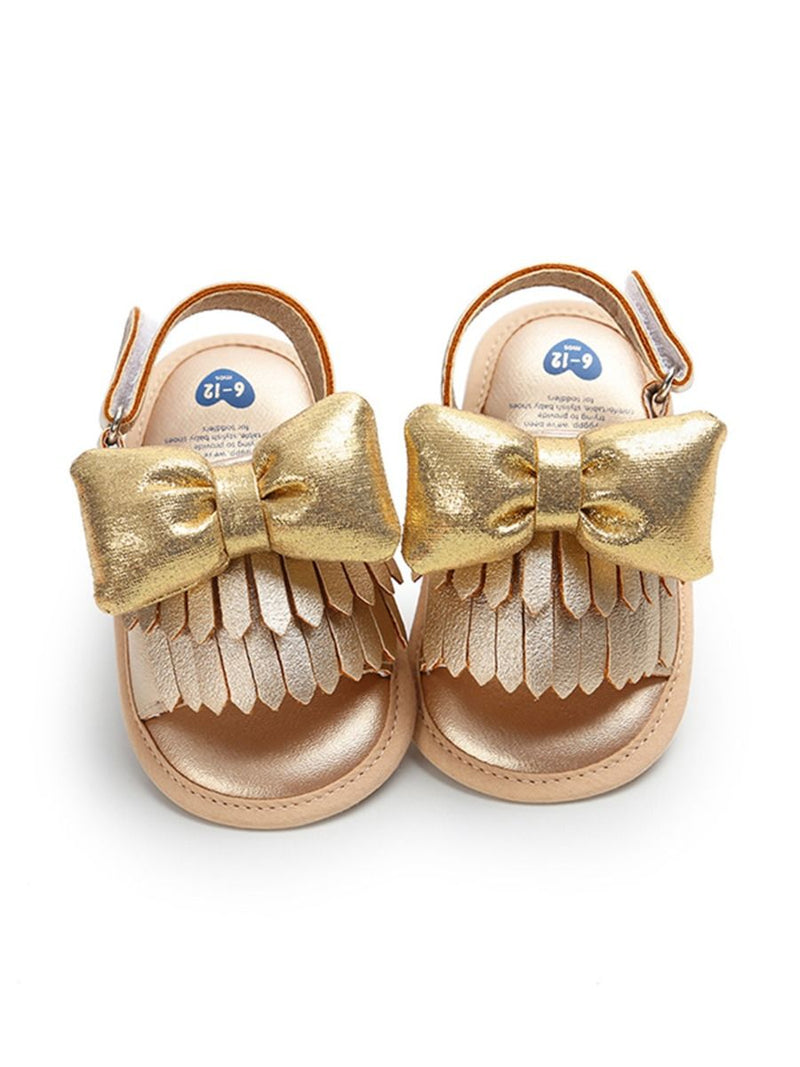Cute Antiskid Shoes-Gold