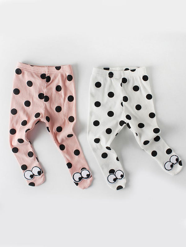 Big Eyes Polka Dots Pantyhose