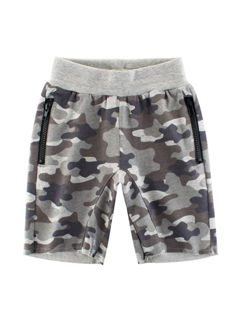 Camouflage Casual Shorts