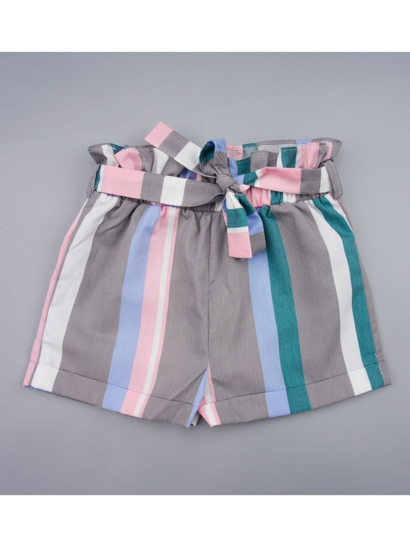 Bow Stripe Shorts