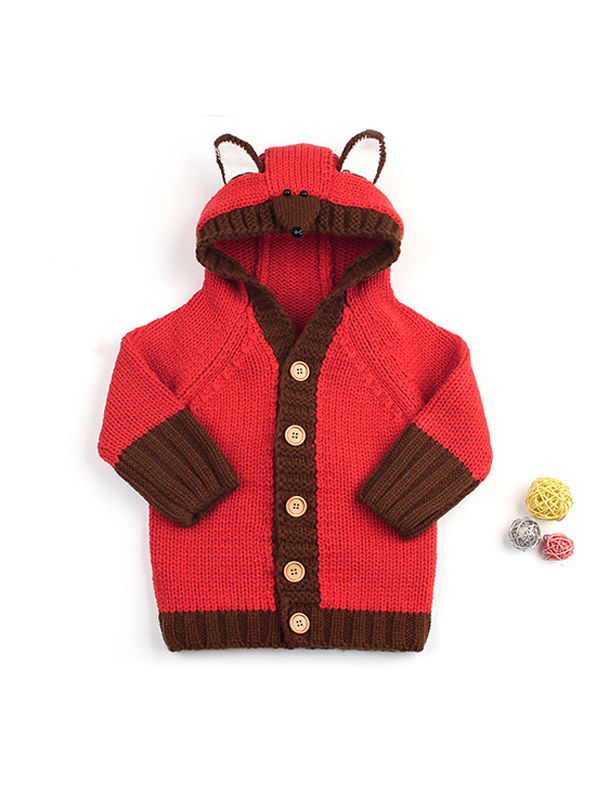 Bear Pattern Outwear