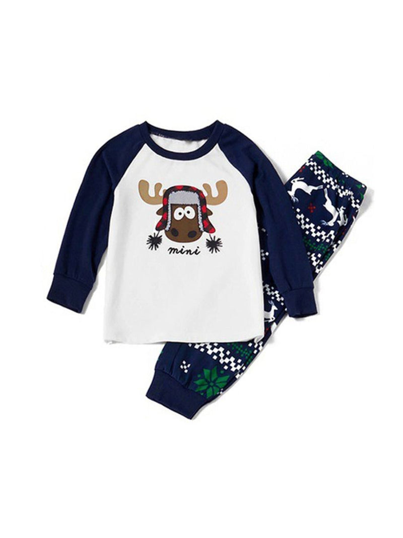 Adorable Christmas Reindeer Leisure Wear Family Matching